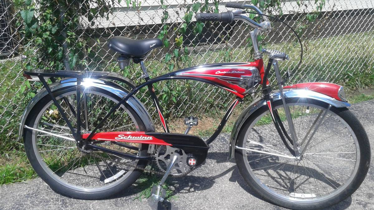 Sold - 1995 Schwinn Cruiser Deluxe 7 | The Classic and