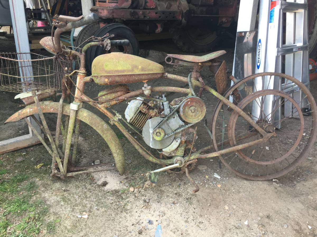 Two Whizzer Motorbikes $1200 (Craigslist)   The Classic and