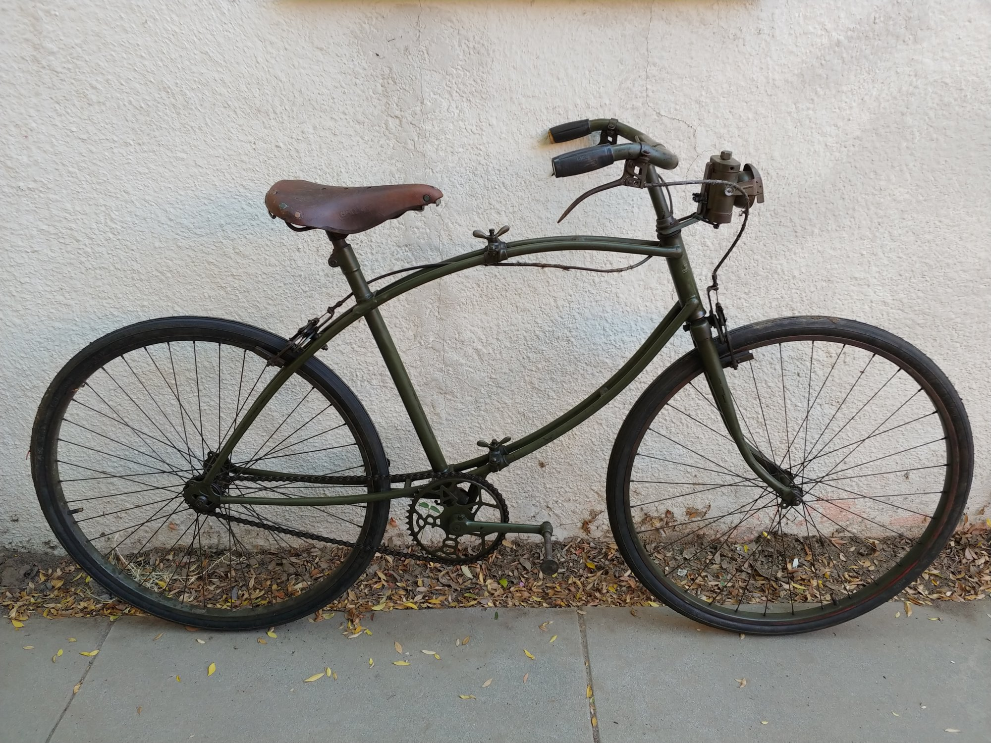 BSA Paratrooper Folding Bike WW2 | The Classic and Antique
