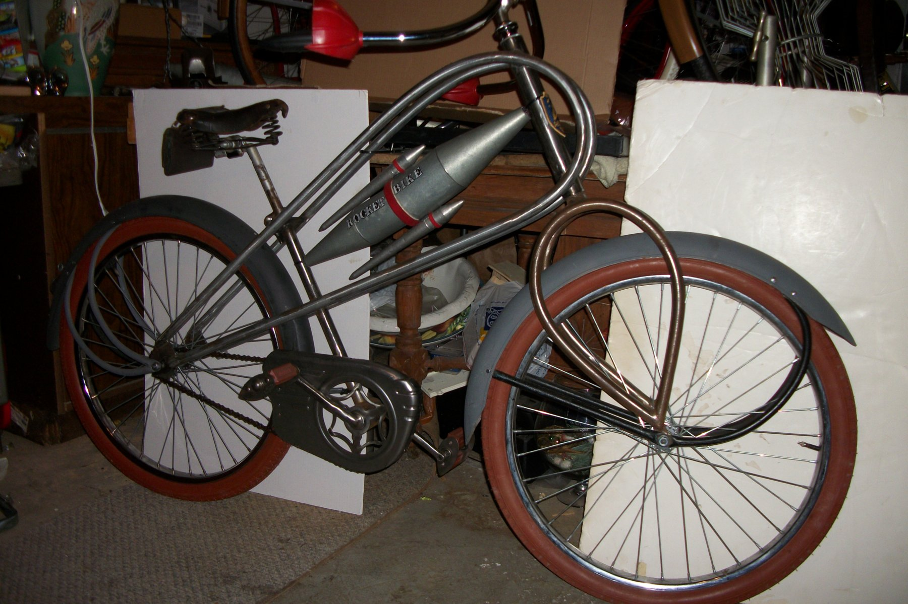 Sold Alexander Rocket Bike The Classic And Antique Bicycle