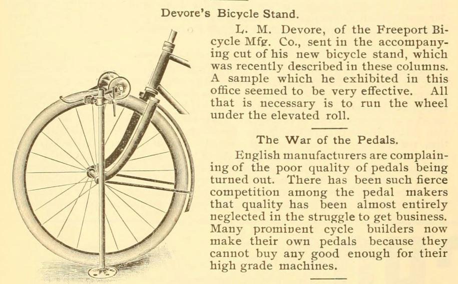 1893.03.17 - The Bearings - Devore Bicycle Stand.JPG