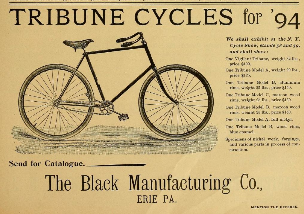 1894.01.12 - The Referee and Cycle Trade - Tribune Ad - Page 37.JPG
