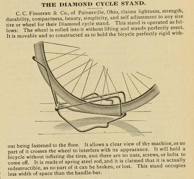 1896.01.02 - The Bearings - Diamon Bicycle Stand.JPG