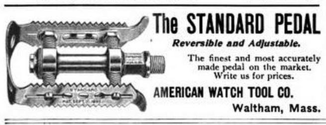 1897.06.25 - LAW Bulletin & Good Roads - AWT Pedal Ad.JPG