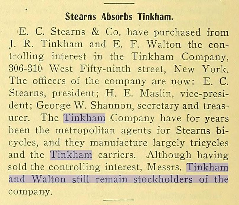 1899.06.22 - The Wheel - Stearns buys Tinkham.JPG