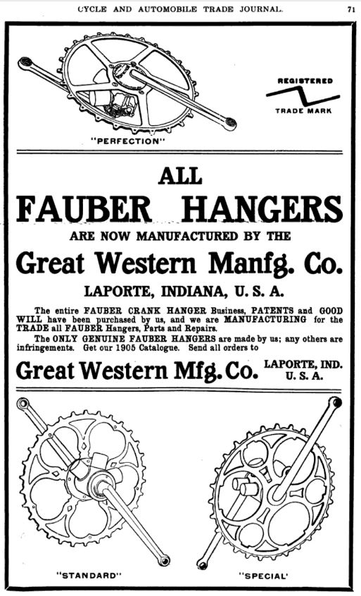 1905.02.01 - Cycle and Automobile Trade Journal - Page 71 - Fauber Perfection Ad.JPG