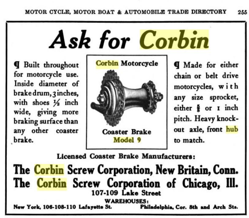 1909 Corbin Model 9 Motorcycle Hub.jpg