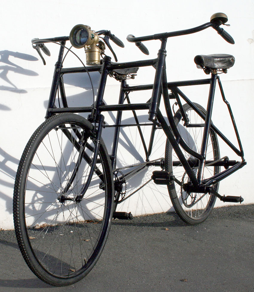 1920's Side by side tandem | The Classic and Antique Bicycle