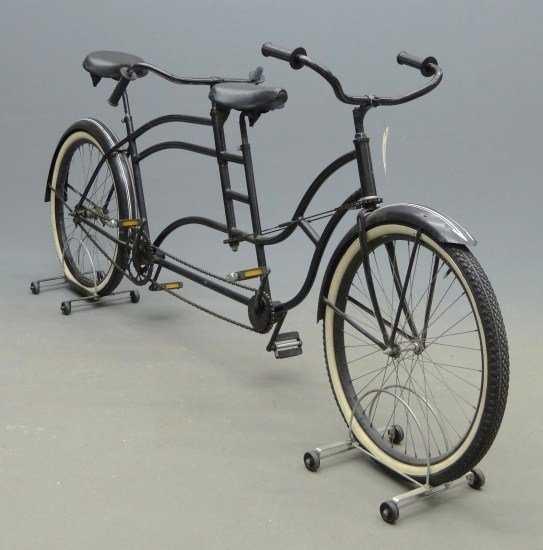 1933 Schwinn:Colson Tandem Bicycle.jpg