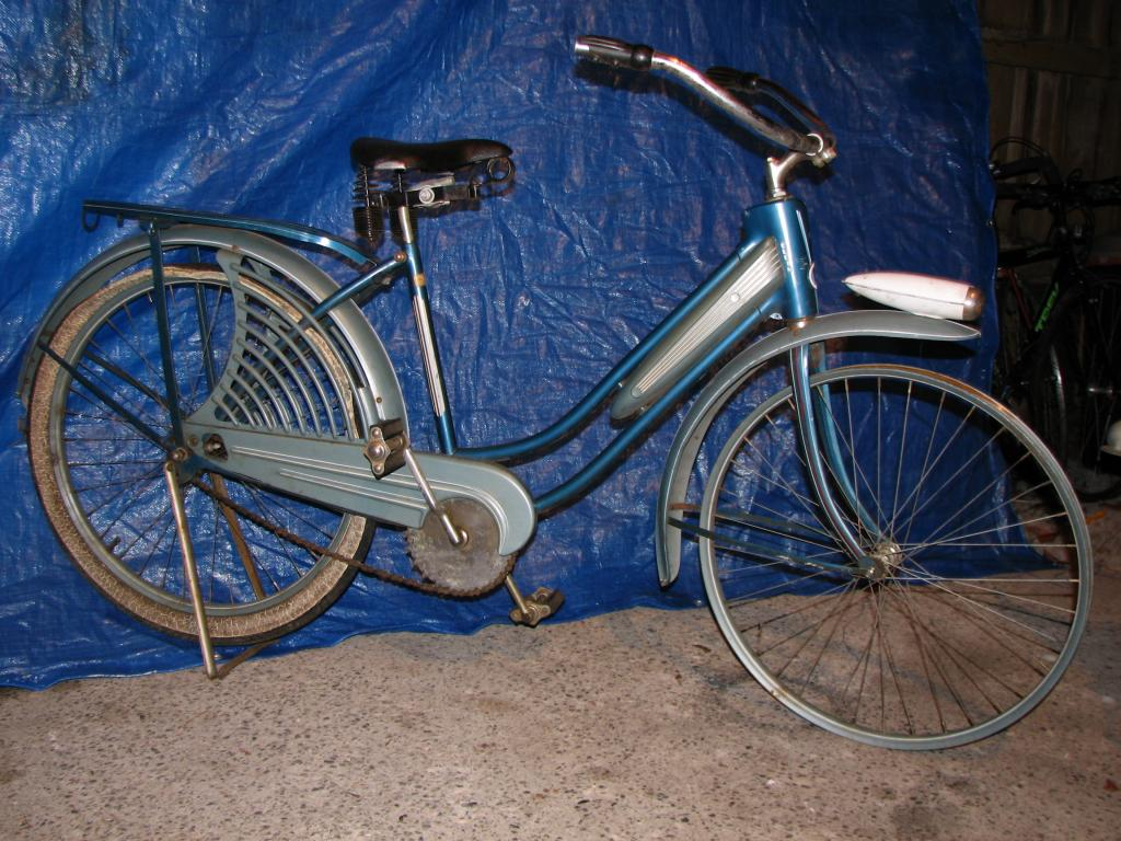 4-SALE=1940-41 Elgin Bike, 4-Star Girls/Ladies Bicycle Sport Model ...