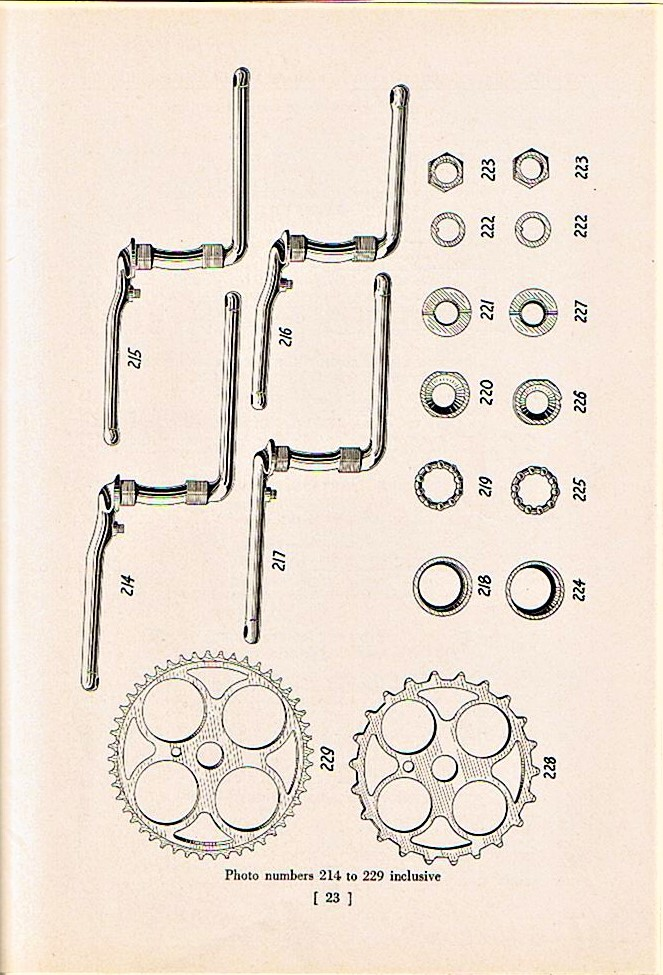 1940 Catalog Page 23 Cranks Hanger Parts.jpg