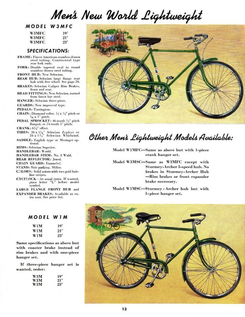 1941 Schwinn New World Catalog Page.jpg
