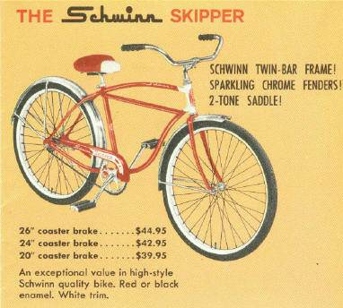 Schwinn Double Straight Bar Thread | The Classic and Antique