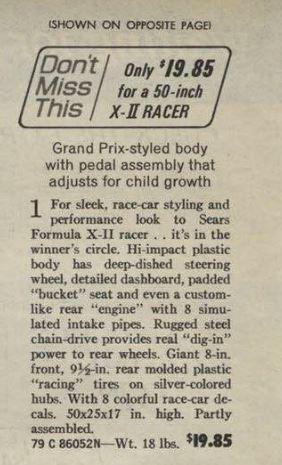 1971 Sears catalog dragster description.JPG