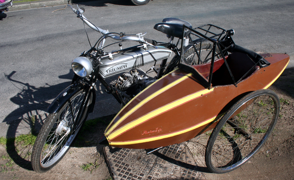 Vintage sidecar for bicycle | The Classic and Antique Bicycle Exchange