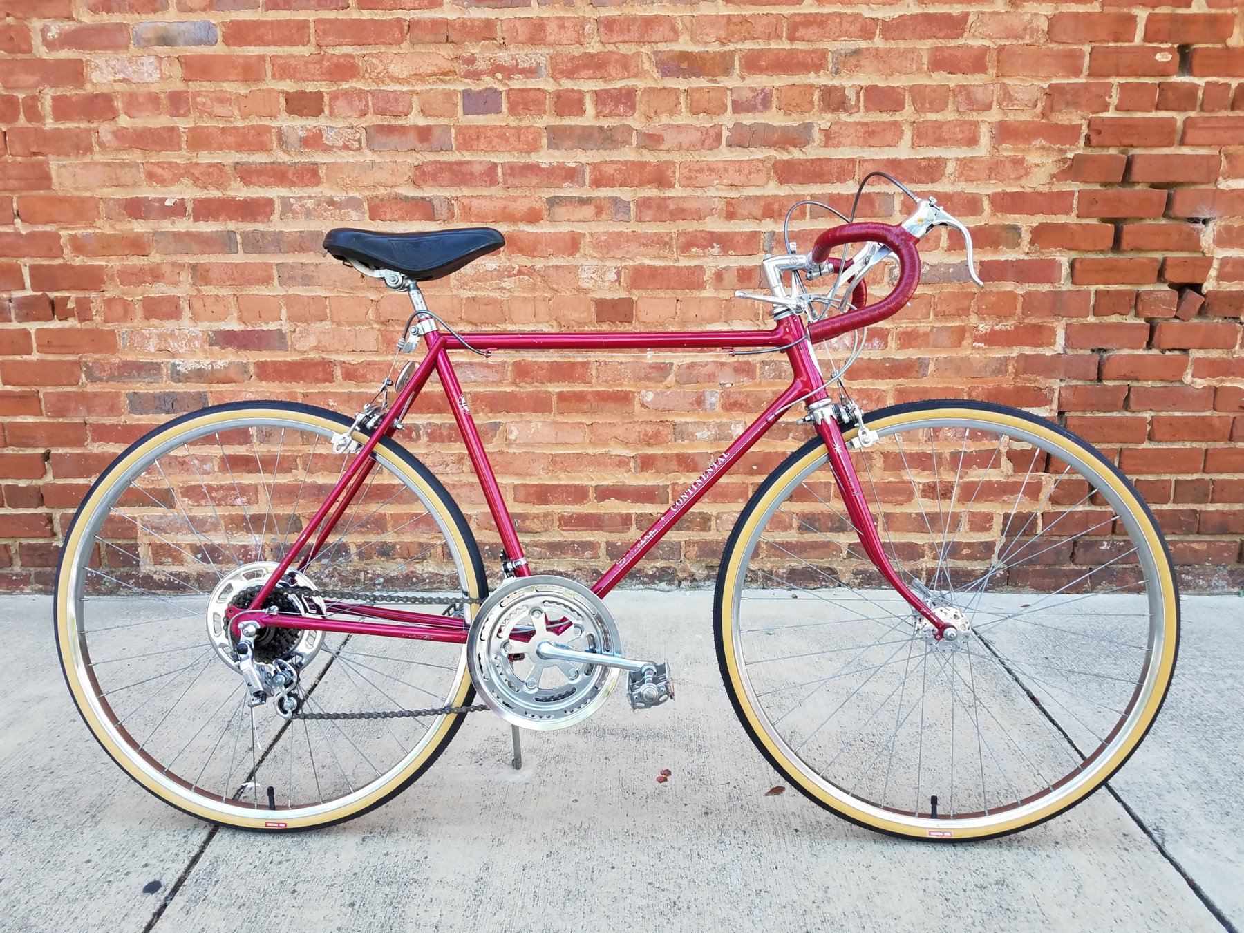 Continental Bicycle Tires >> 1972 Schwinn Continental Restoration | The Classic and Antique Bicycle Exchange