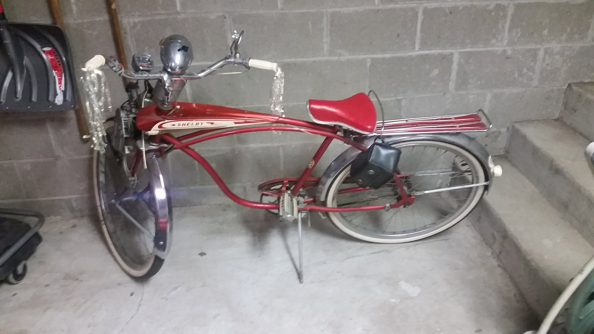 Help Identify Older Shelby bike with Orline Engine - can't find
