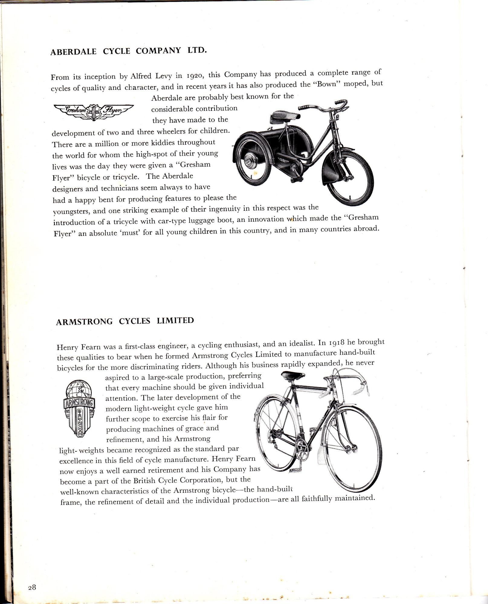 Transfers Armstrong Moth Bicycle Frame Decals Stickers n.1
