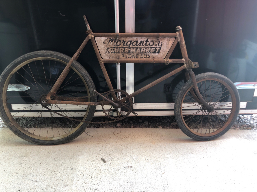 baaa0816f3d Sold - Tall frame prewar Schwinn Cycle Truck SOLD | The Classic and ...