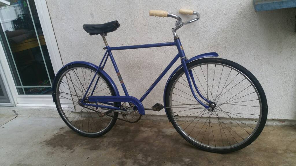 Schwinn Bicycle Painting : Prewar schwinn new world original paint inch