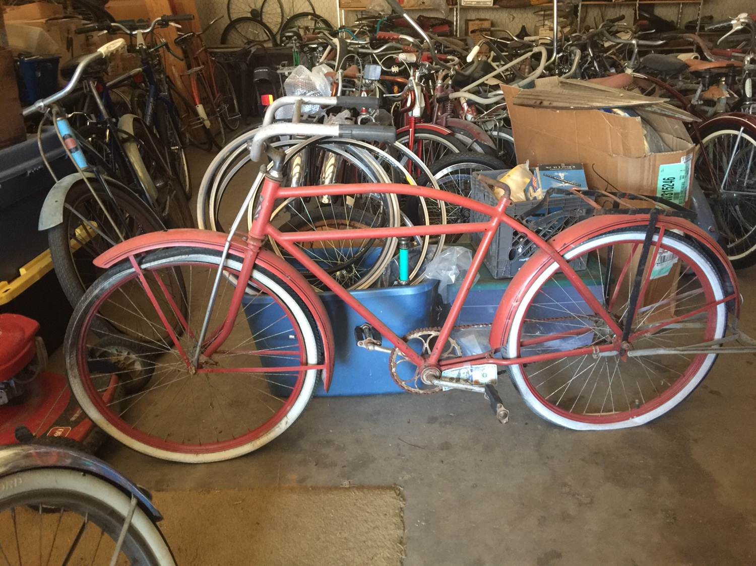 Delmar Colson long frame bike | The Classic and Antique Bicycle Exchange