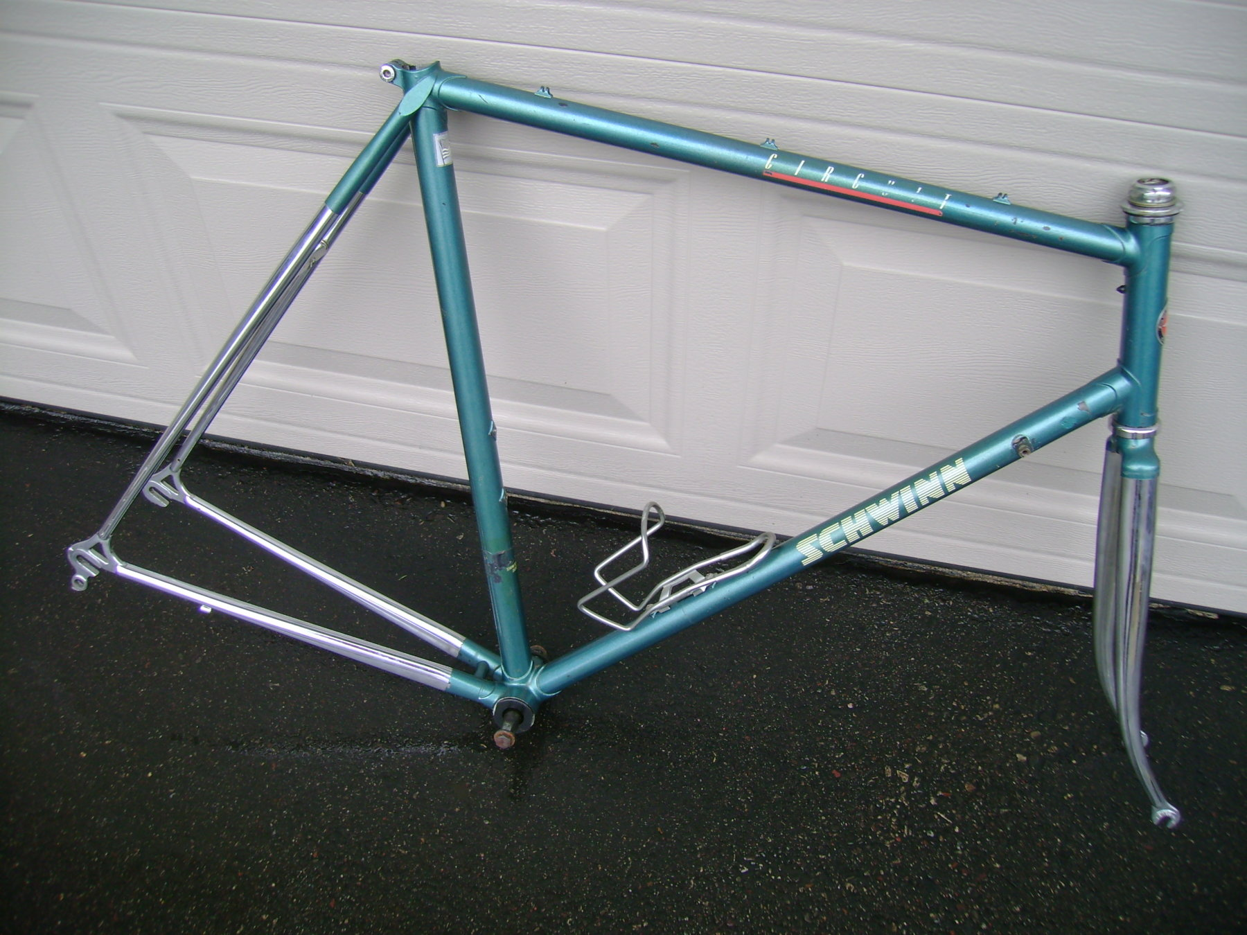 036b4db8f08 F/s 1987 Schwinn Circuit Frame/fork (rare Color) | The Classic and ...