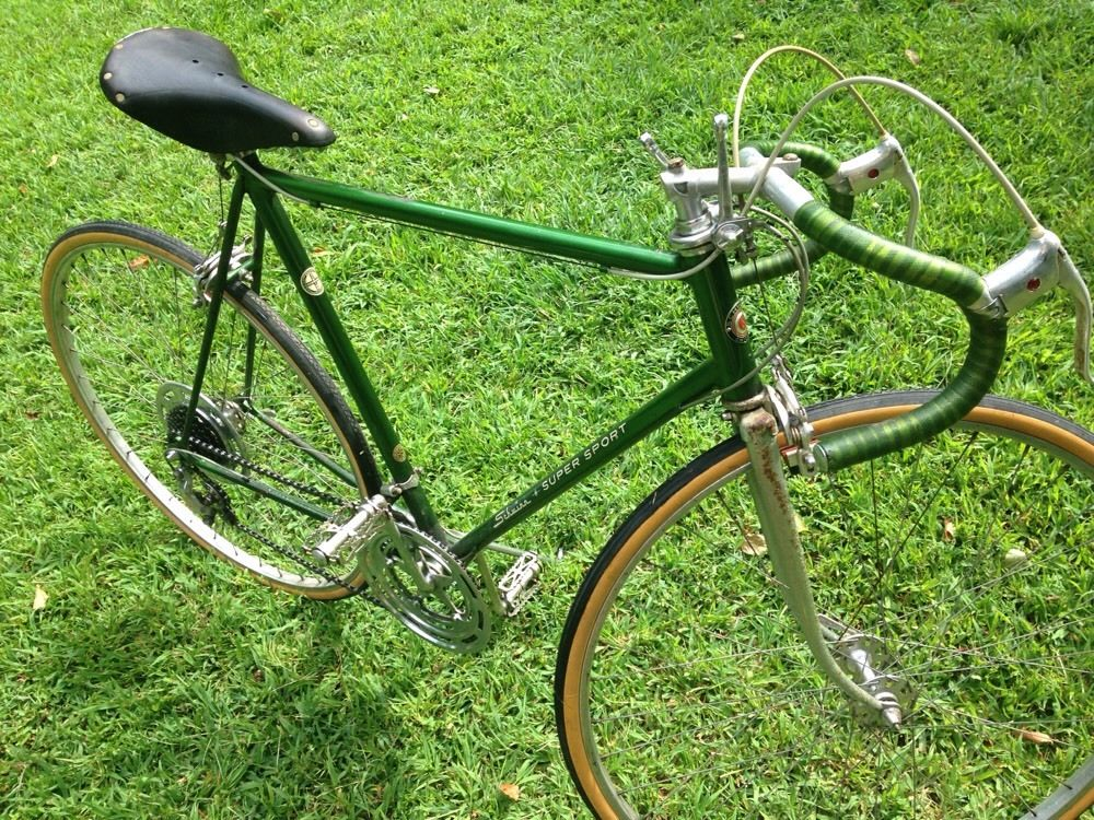 c989c571d20 eBay: 1967 Campus Green Schwinn Super Sport | The Classic and ...