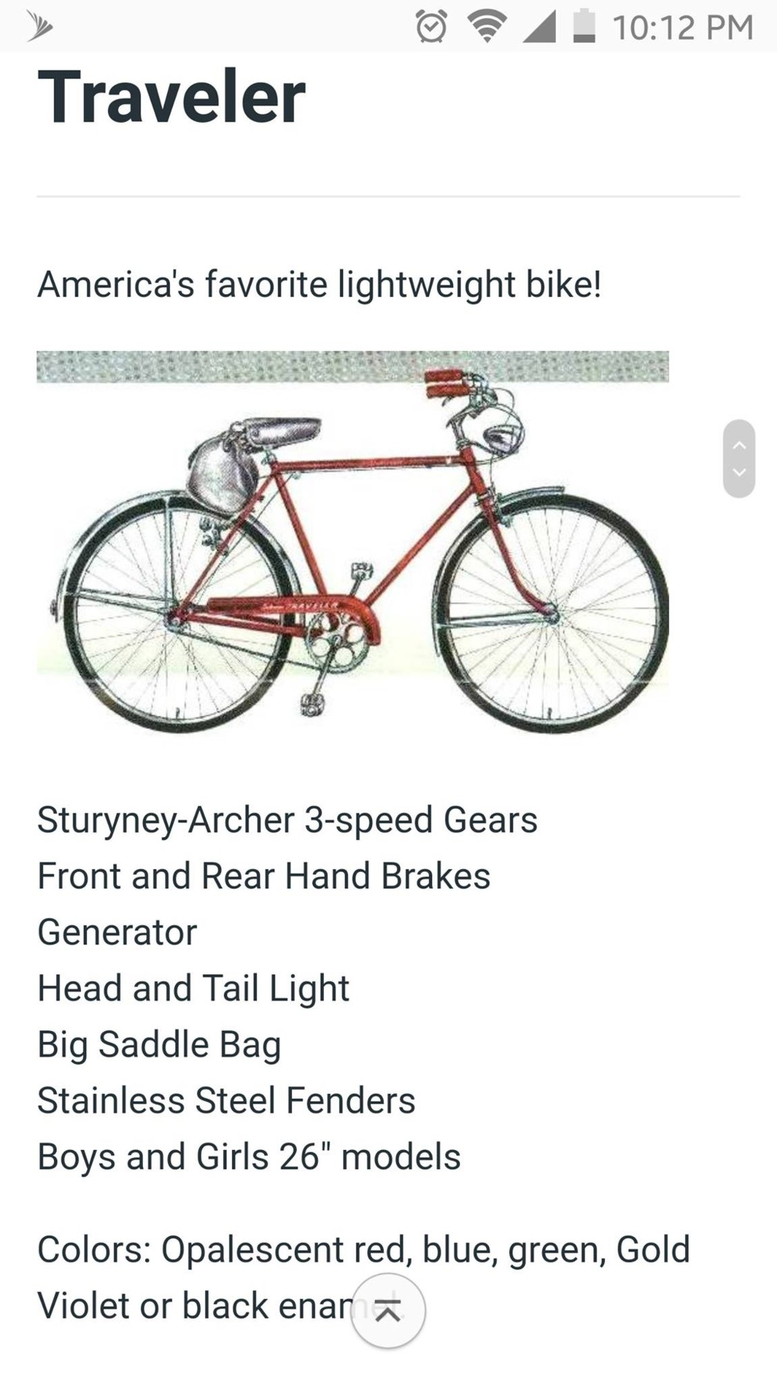 830c8ab51a1 1957 Schwinn Traveler color? | The Classic and Antique Bicycle Exchange
