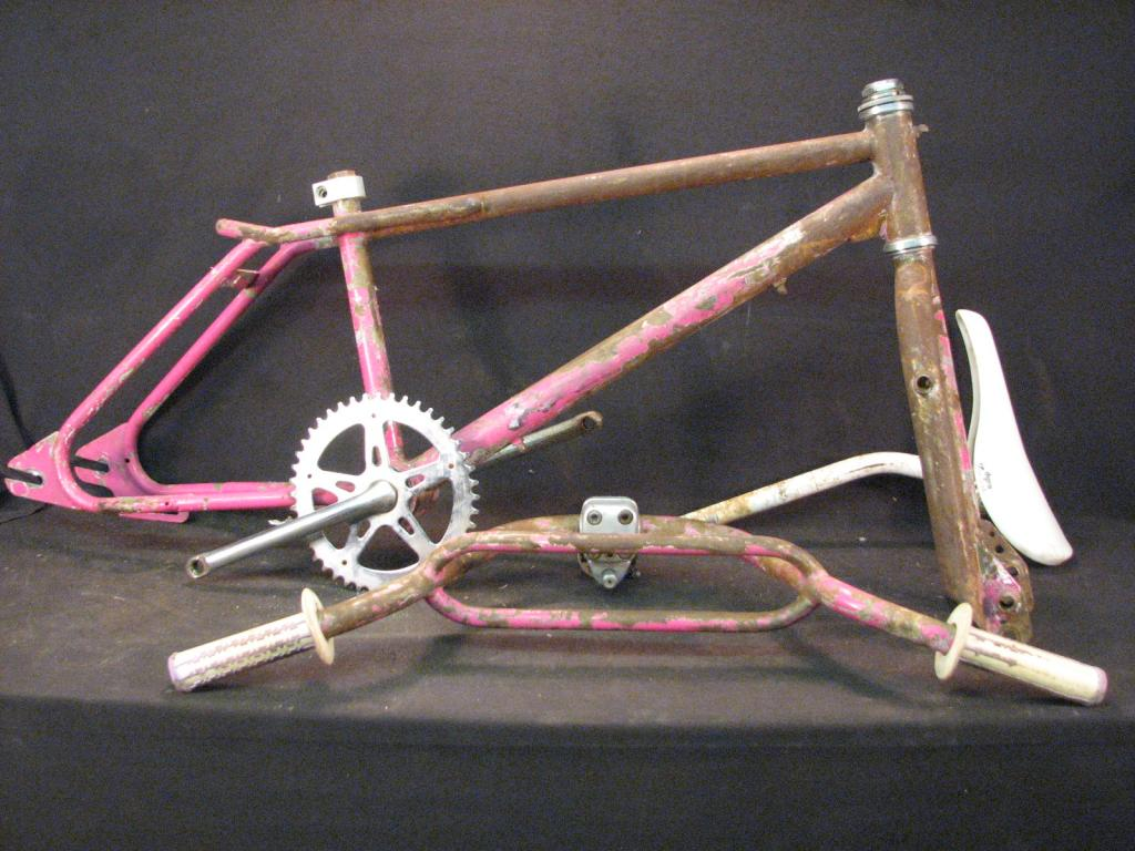 Rare Peugeot Freestyle Bmx Old School Bike Frame Forks