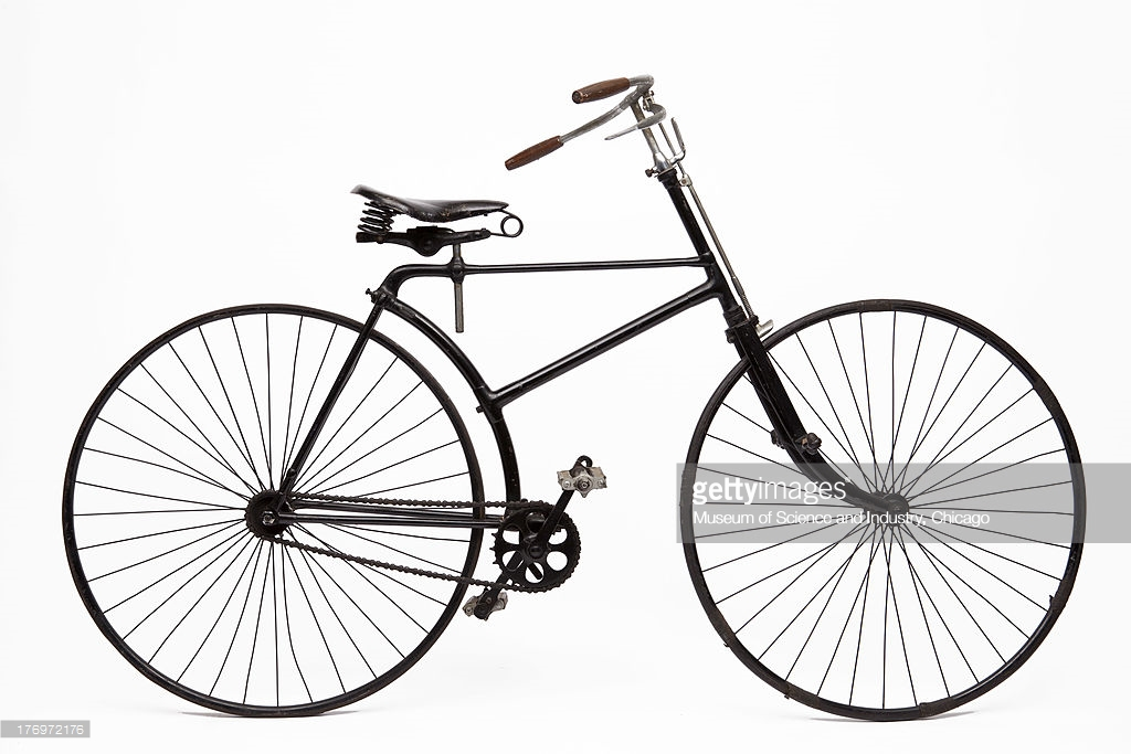 an-image-of-an-early-american-made-safety-bicycle-dating-between-1890-picture-id176972176.jpg
