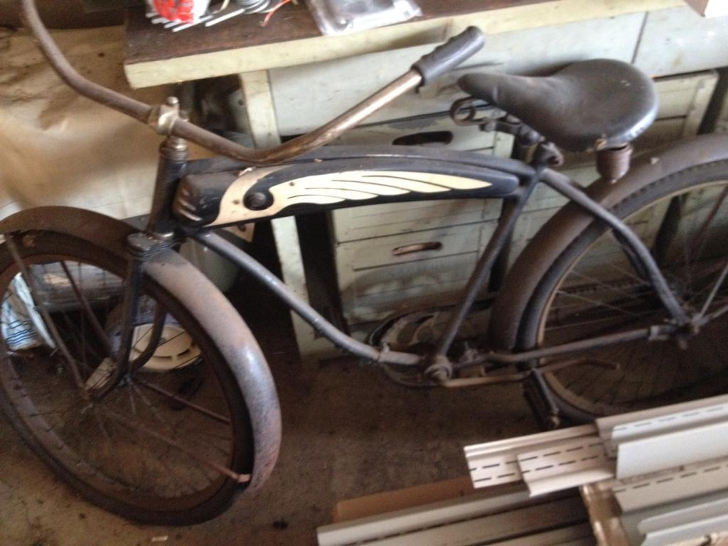 Cleaning Out My Dad S Garage Found An Old Bike 1940 S