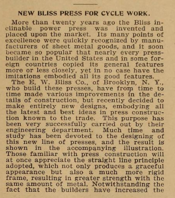 Bliss press 1899.png