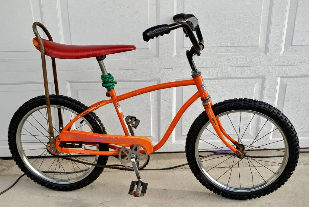 Boys 20 Inch Bike >> 1960s HUFFY GOLD BOYS BANANA SEAT MUSCLE BICYCLE DERBY ...