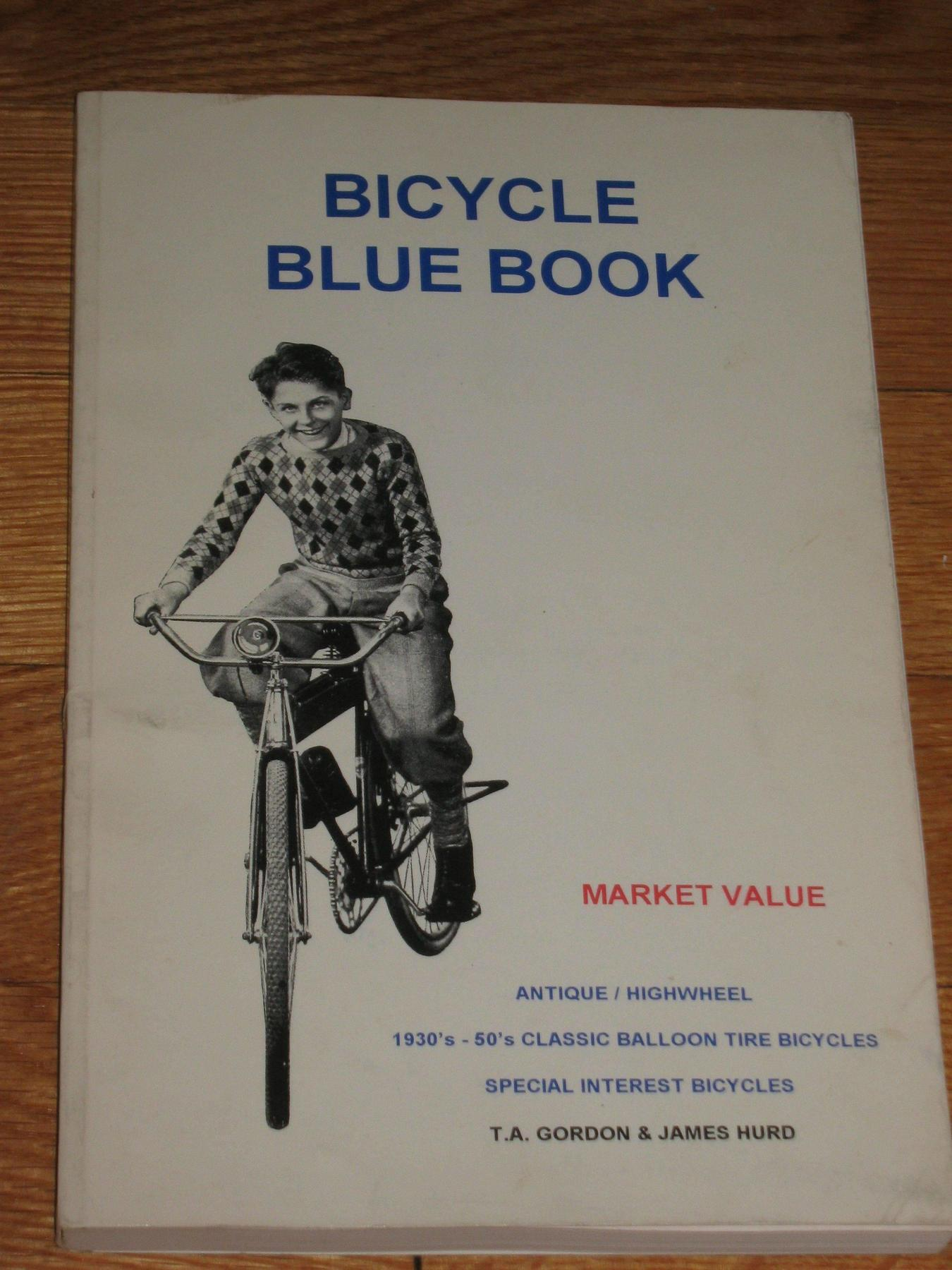 Bicycle Blue Book Value >> Fs Bicycle Blue Book 1993 1995 Sold The Classic
