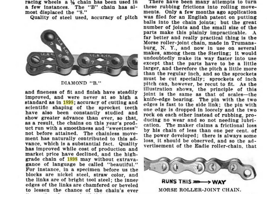 Diamond B Pattern and Morse Roller Chains.png