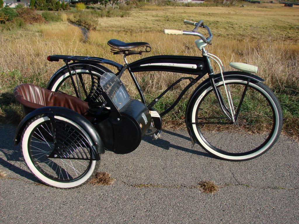 push bike with sidecar | hobbiesxstyle