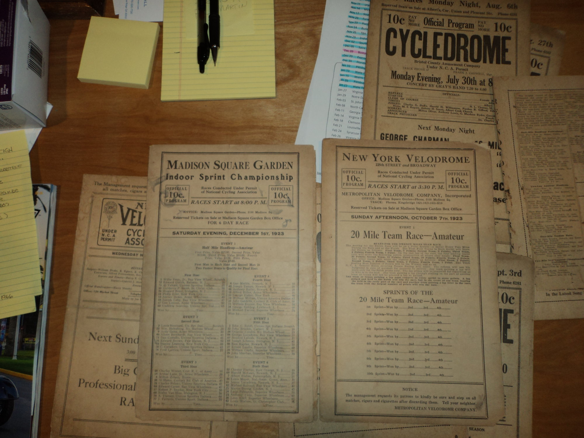Checking History on Cycledrome Racing | The Classic and Antique ...