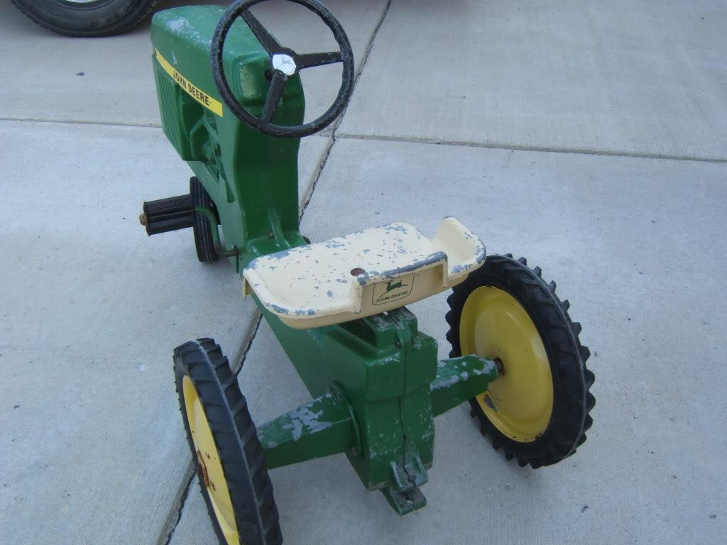 Murray Pedal Tractor Restoration : My first resto john deere pedal tractor the classic and