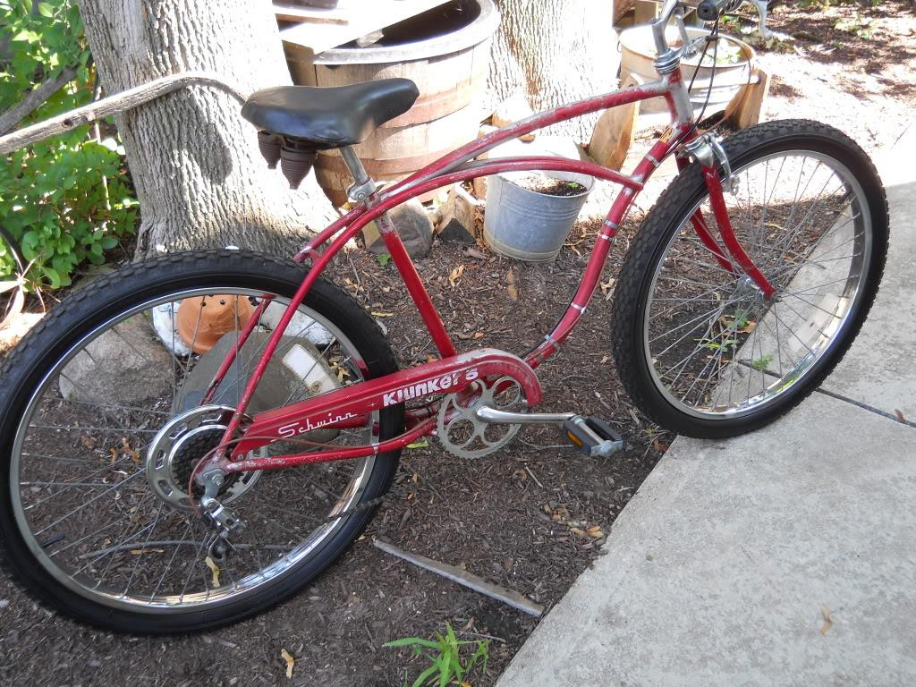 391dee1d2d6 Heres my Klunker 5.Its not pretty and was hard to find in original  condition except for the tires.