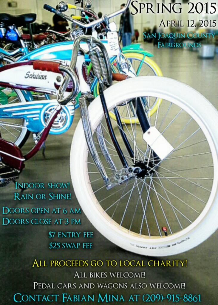 & Stockton Cycle Show 4/12/15 | The Classic and Antique Bicycle Exchange
