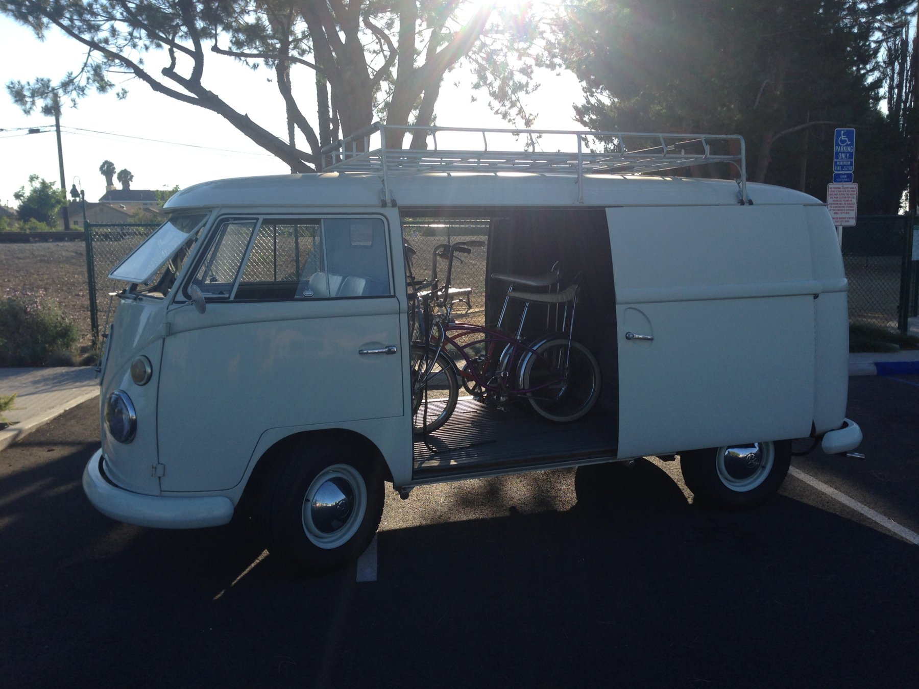 Bikes & Buses (and Cool Old Cars With Bikes) | The Classic and ...