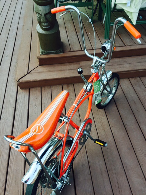 bc8cc441f78 1973 Disc brake sunset orange Krate this thing is mint local find from a  great guy View attachment 221627 View attachment 221628