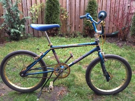A Couple Of My Old School Bmx Bikes The Classic And Antique