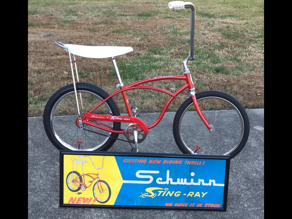 563a197025d Original 1963 schwinn stingray | The Classic and Antique Bicycle ...