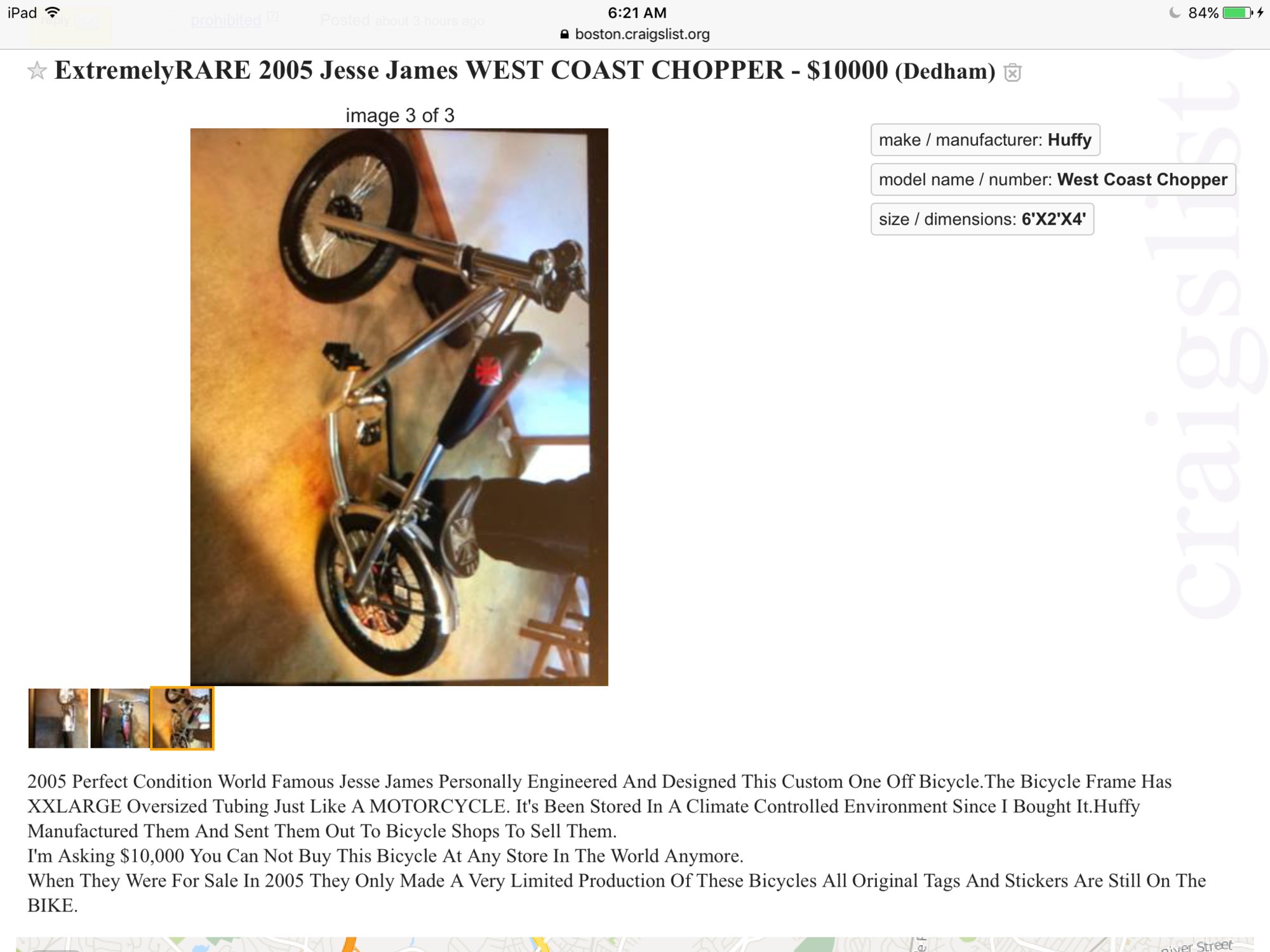 Extremely rare?   The Classic and Antique Bicycle Exchange