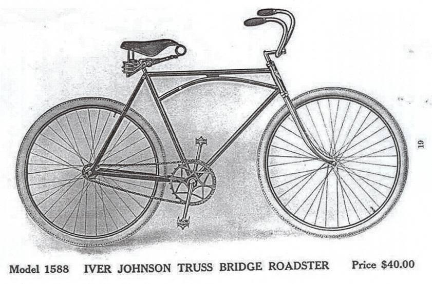 iver johnson bicycle serial number location