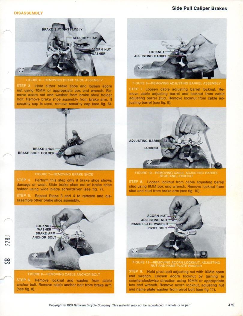 Schwinn Service Manual Volume 2   The Classic and Antique