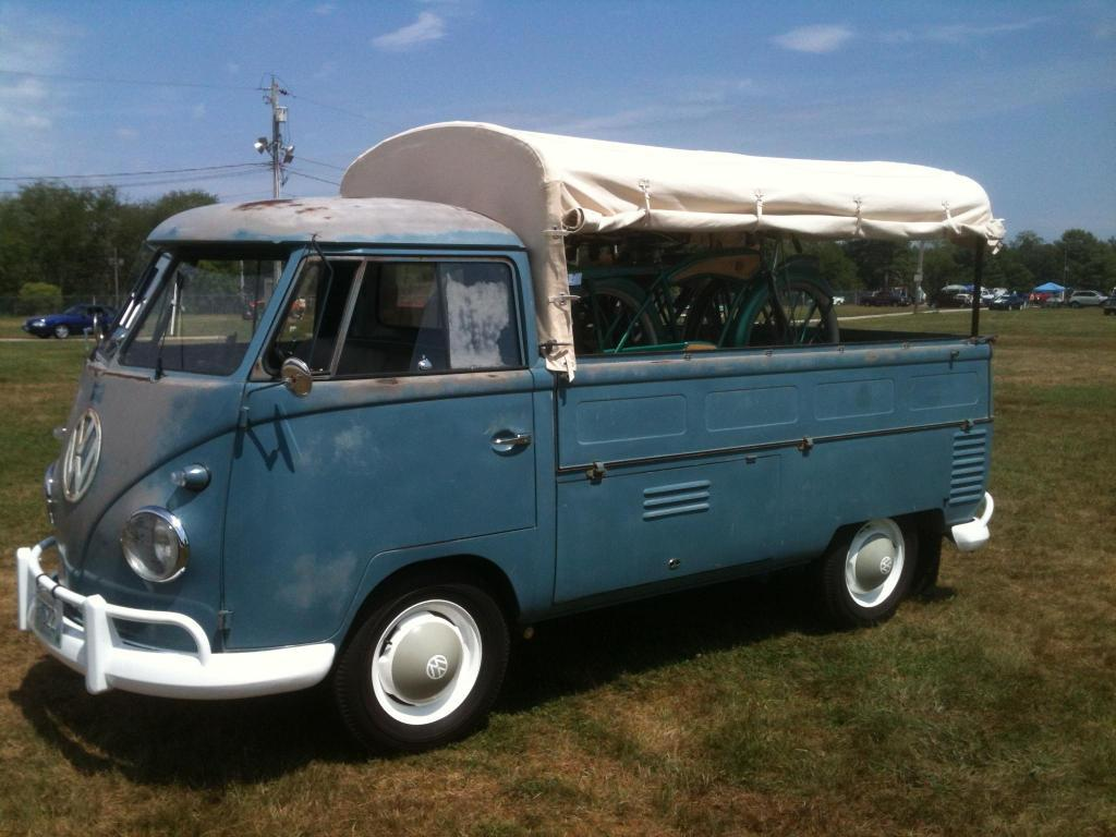 1961 VW single cab truck | The Classic and Antique Bicycle Exchange