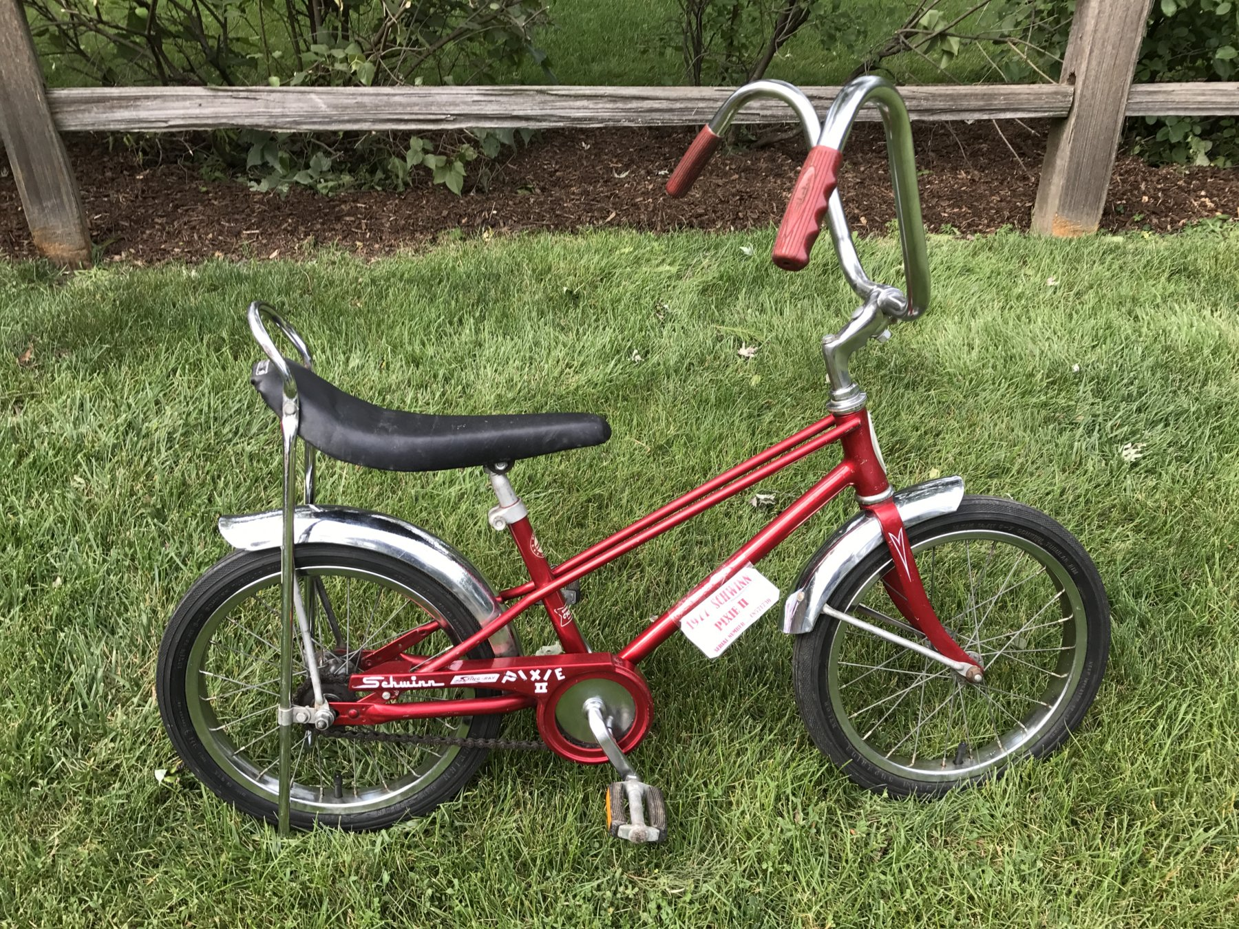 616ceccfebb Sold - 1977 Schwinn Pixie II | The Classic and Antique Bicycle Exchange