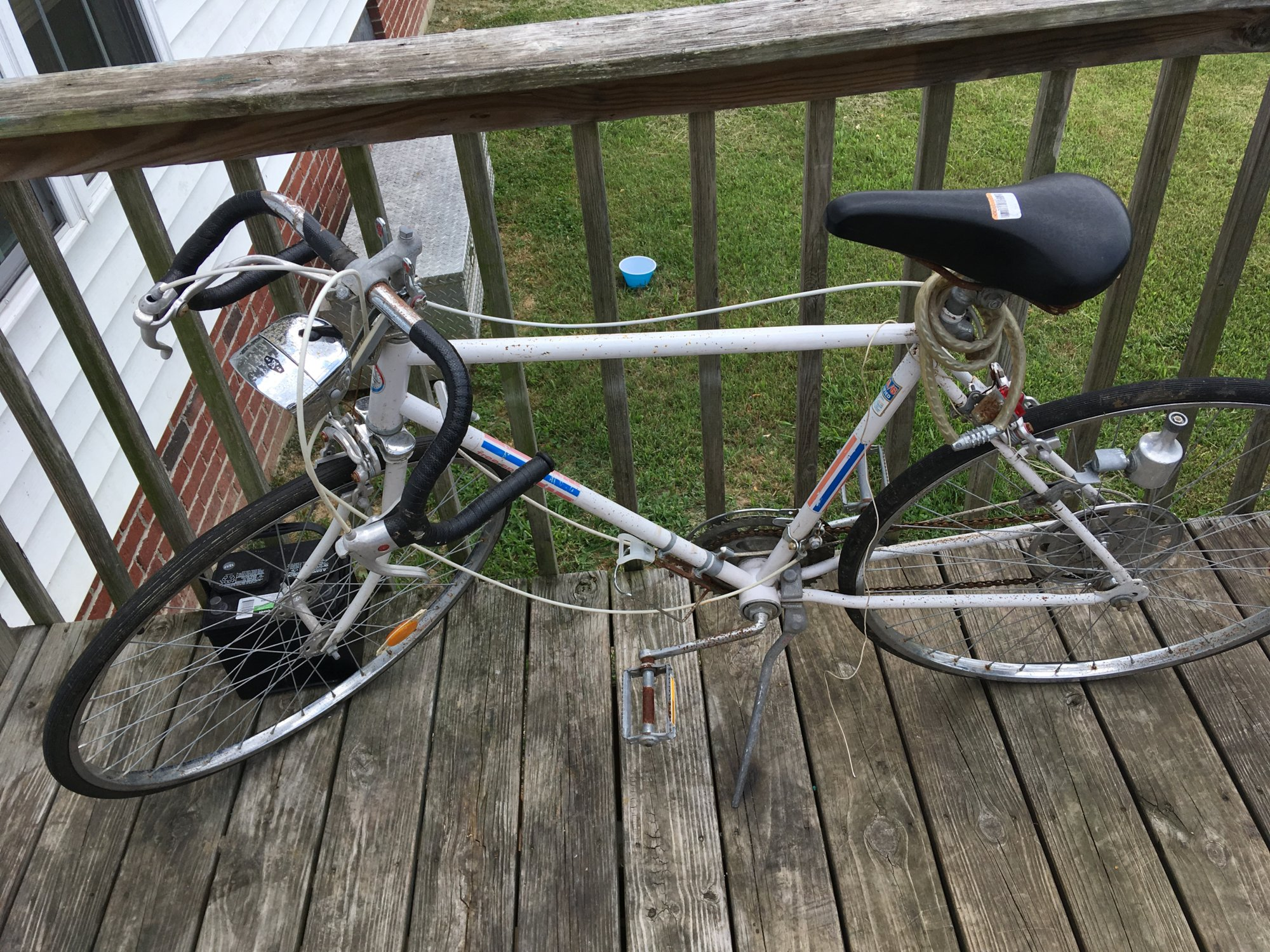 Old Sears 10 speed Free Spirit    The Classic and Antique